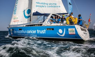 The Ellen MacArthur Cancer Trust supports the physical and emotional development of young people dealing with cancer