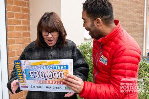 Julia also won £30,000 and said she was lost for words