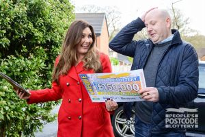 Craig couldn't believe his eyes when Judie revealed he had won £150,000!