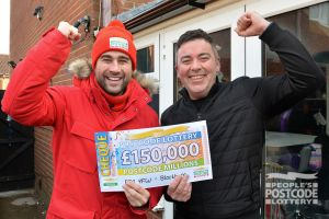 Martin said he had figures in his head - but nowhere near the amazing £150,000 he won!