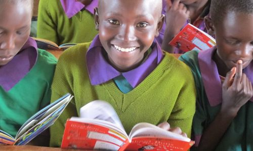 Book Aid International is working hard to make sure that when schools reopen, many more children will have access to books