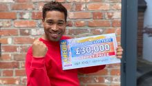 Danyl reveals a fantastic £30,000 Street Prize for each of our two winners in Nottingham