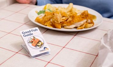 The Good Fish Guide from the Marine Conservation Society lets consumers know which fish are the most and least sustainable