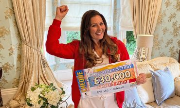 Judie reveals a fantastic £30,000 Street Prize for each of our four winners in Coleshill