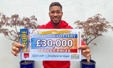 Danyl has a super £30,000 cheque for one winner in today's Street Prize