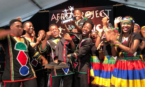 Last year, the choir received the African Music Award at Africa Festival Würzburg (image courtesy of Ndlovu Youth Choir website https://choir.africa/)