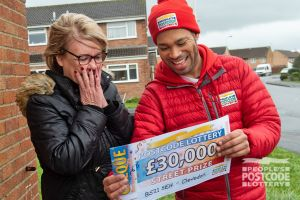 Winner Catherine couldn't believe her luck when Danyl revealed her £30,000 cheque