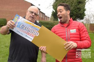 David couldn't believe it was real when Danyl revealed his £30,000 prize