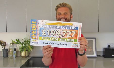 This month's Postcode Millions prize has landed in a lucky Reading postcode sector
