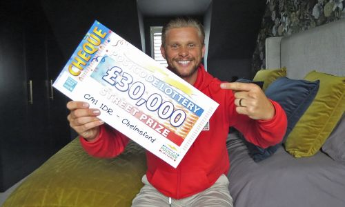 Today's £30,000 Street Prizes are headed to two lucky players in Chelmsford
