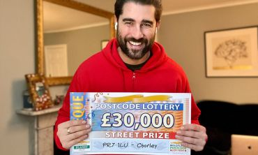 Today's £30,000 Street Prizes are heading to five lucky neighbours in Chorley