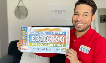 £3.1 Million is being shared between all our players in winning postcode sector ST7 8!