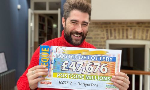 £4.1 Million is being shared between all the players in winning postcode sector RG17 7!