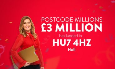 £3 Million in prizes is being shared between all the players in the winning postcode sector HU7 4