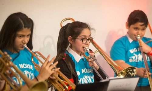 Sistema Scotland's Big Noise programme improves the lives of children and young people through music