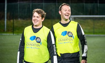 Our players help Newcastle United Foundation to run volunteering programmes for young adults, Fit Club for over 50s, and the Newcastle Panthers Football Club