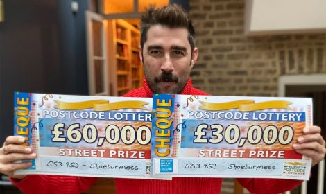 Today's £30,000 Street Prizes are heading to four lucky winners in Shoeburyness