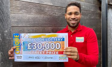 Danyl has fabulous £30,000 Street Prizes for five lucky Scone residents